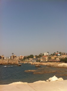 Byblos harbour
